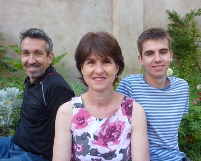Paul & Sandra King Family 2013_pathway